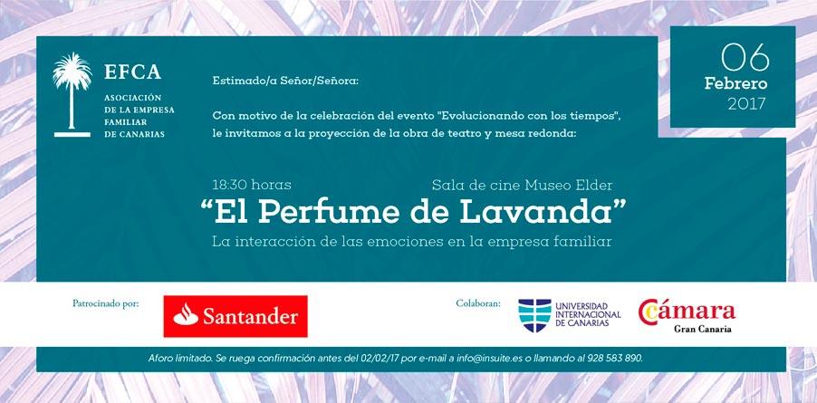 Invitación al Perfume de Lavanda