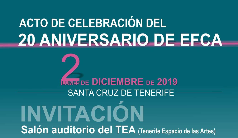 invitación 20 aniversario