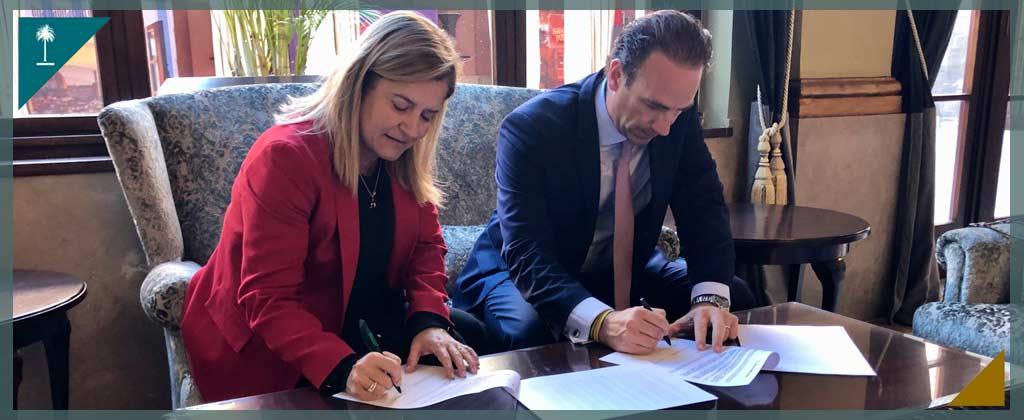 Firma del Convenio de Colaboración con banca March