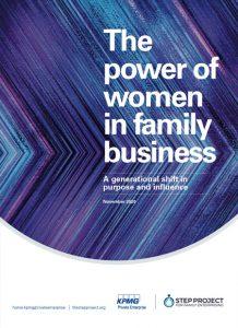 Portada de El poder de las mujeres en la empresa familiar