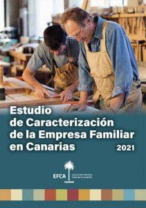 Portada del Estudio de Caracterización de la mpresa Familiar en Canarias